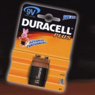 BATTERIA TRANSISTOR PLUS DURACELL MN1604